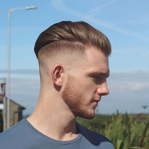 alan beak AND High and tight  square and faded beard - 35 Best Military Haircut Styles For Men