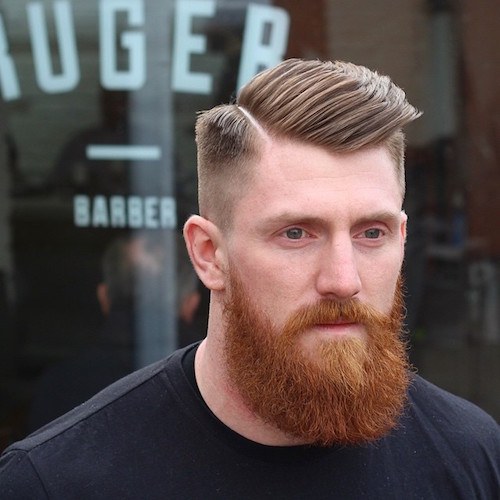 High Skin Fade With Beard | newhairstylesformen2014.com