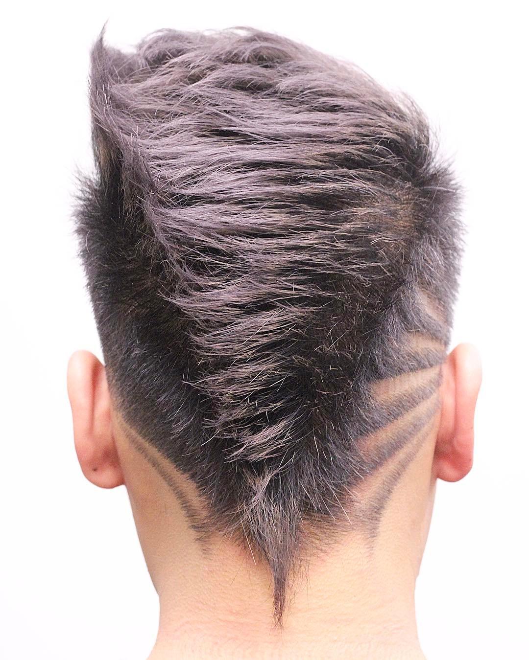 fade haircut mohawk pixsharkcom images galleries - Undercut Nacken Muster