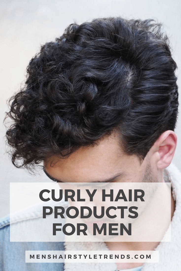 Best Products For Curly Hair Men